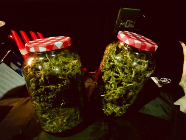 Foto 1 - La Guardia Civil interviene 500 gramos de marihuana en Ólvega