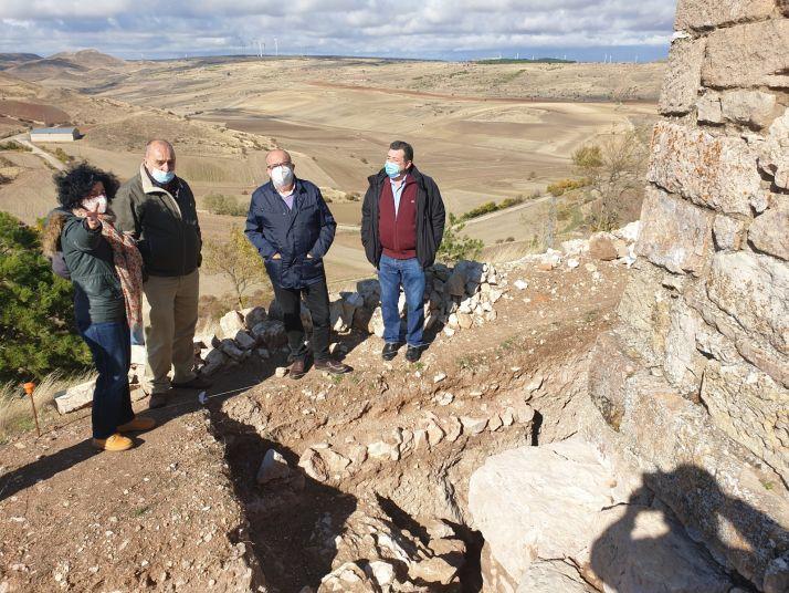 Foto 1 - Medinaceli presenta un proyecto al 1,5% Cultural del Gobierno para la tercera fase de consolidación de la muralla romana