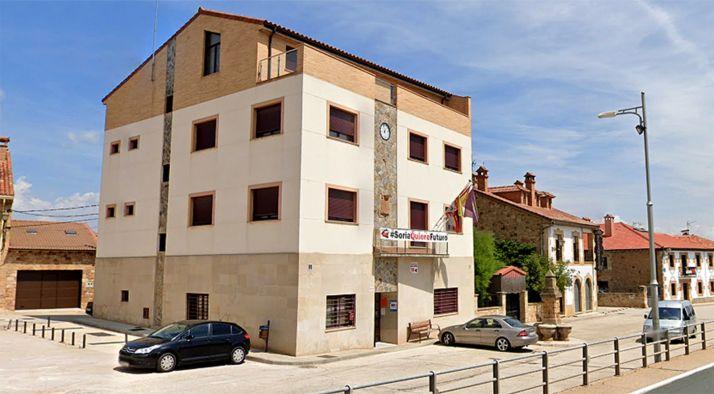 Una imagen de la casa consistorial de Golmayo. /GM
