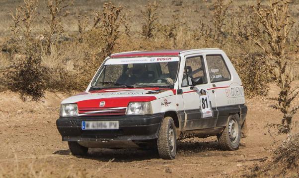 Coche participante en la Iberian Classic Raid. /ICR