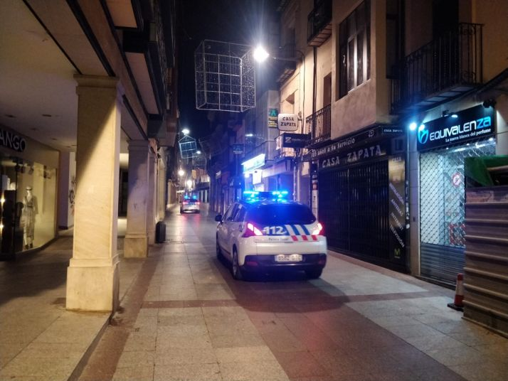 Foto 1 - Diez denuncias en Soria, en la primera noche de toque de queda