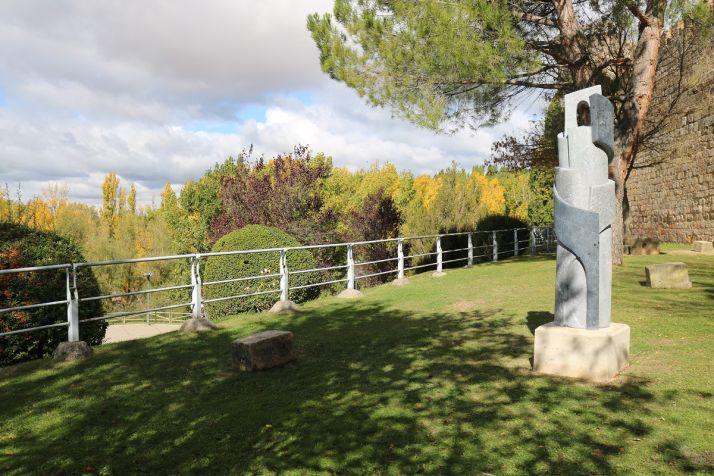 Foto 2 - Las obras del V Simposium de Escultura de Almazán estrenan ubicaciones