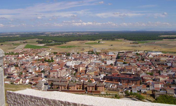 Una imagen de la localidad de Íscar.
