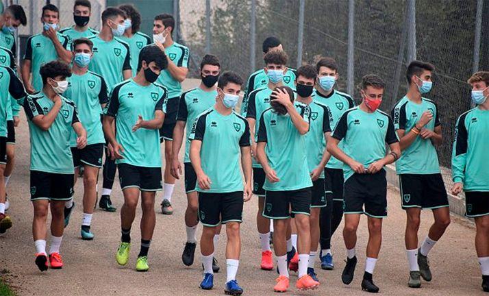 El virus obliga a aplazar el partido del Juvenil A del CD Numancia