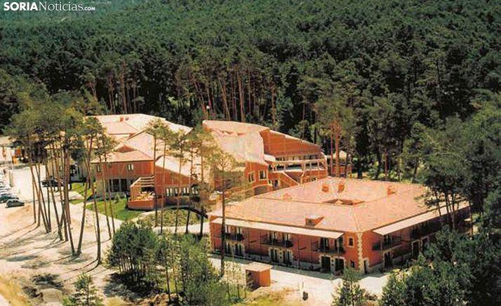 Vista aérea de las instalaciones en una imagen de archivo. /SN