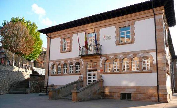 Un aula del CEIP La Arboleda, en cuarentena