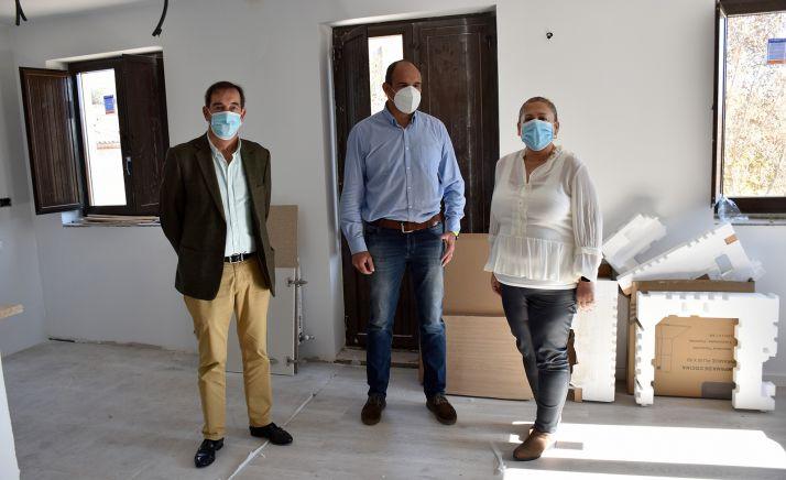 Imagen de la visita oficial a la vivienda. /Jta.