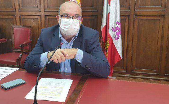 Miguel Latorre, este viernes en rueda informativa. /SdG