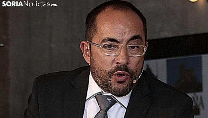 Luis Rey, portavoz socialista en el Palacio Provincial. /SN