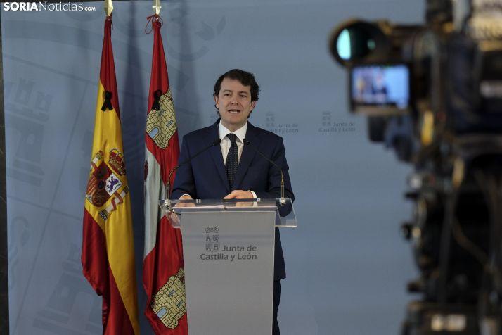 Foto 1 - Mañueco convoca a los grupos parlamentarios para consensuar el reparto de los fondos europeos