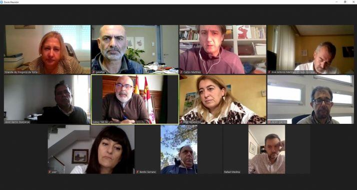 Foto 1 - Todo listo en Soria para el toque de queda: el CECOPI coordina las actuaciones del Acuerdo aprobado por la Junta