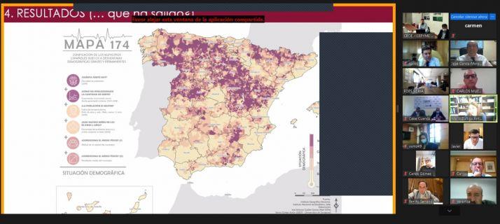 Presentación del mapa 174.