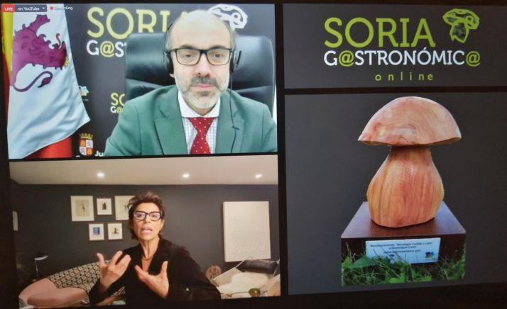 Foto 1 - Nueve estrellas Michelín ponen el broche de oro a una edición on line de la Soria Gastronómica
