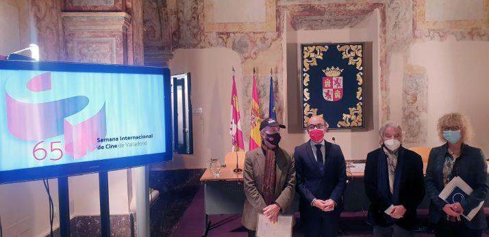 Imagen de la presentación hoy del Día del Cine y el Audiovisual de Castilla y León. /Jta.