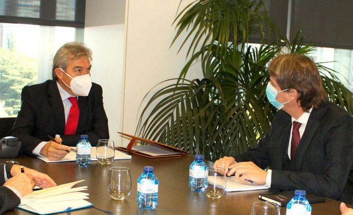 Mínguez se reúne con SEPES para abordar la situación de Valcorba