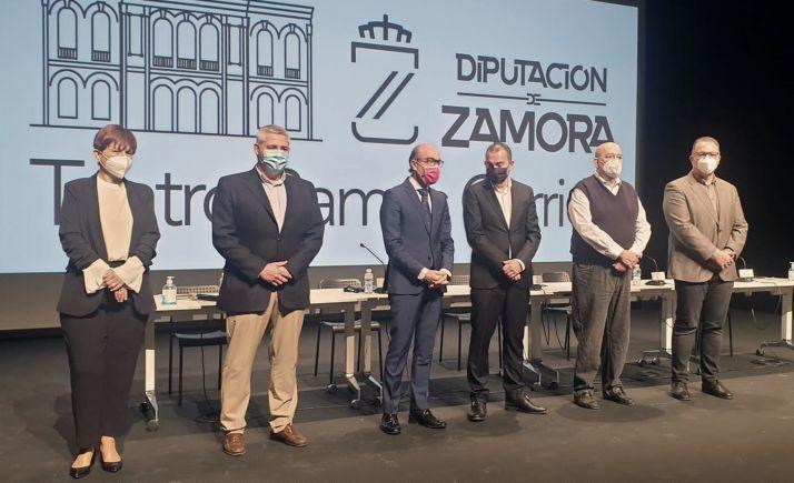 Presentación del espectáculo hoy en Zamora. /Jta.