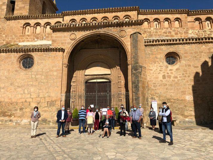 Foto 1 - Bienvenida Santamaría cumple 100 años y regresa a Monteagudo
