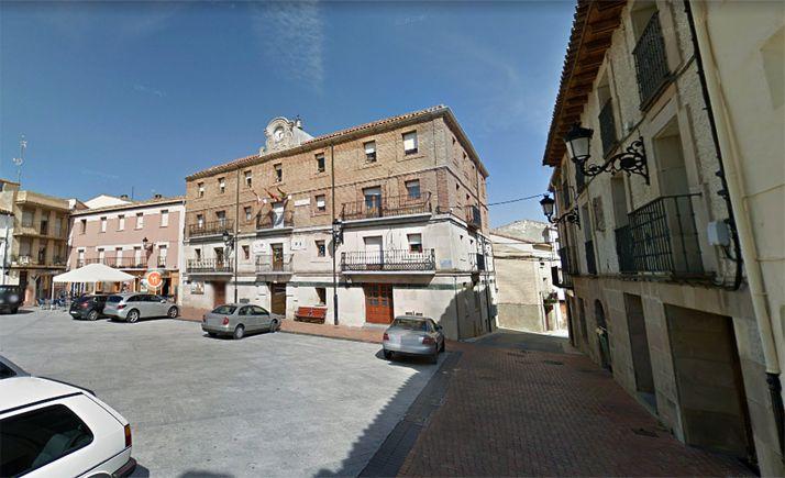 Imagen de la plaza de España, en el casco antiguo de la localidad. /GM