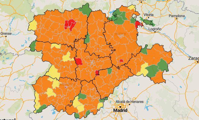 Foto 1 - Coronavirus en Soria: Las zonas de salud `limpias´ y las que más preocupan