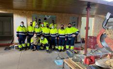 FOES y Cortabitarte forman a 14 alumnos en montaje de construcciones de madera e insertan laboralmente al meno