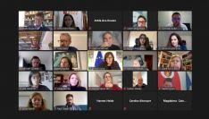 Foto 2 - SSPA se reúne con la vicepresidenta y comisaria europea de Democracia y Demografía para conocer la situación de Soria, Teruel y Cuenca