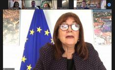 SSPA se reúne con la vicepresidenta y comisaria europea de Democracia y Demografía para conocer