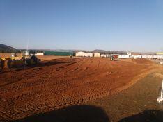 Una imagen de las labores en el aeródromo. /Dip