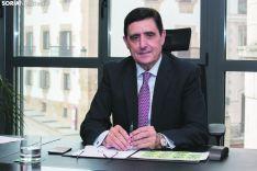 Carlos Martínez Izquierdo, presidente de Caja Rural de Soria. María Ferrer