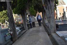 Una imagen del cementerio del Espino este domingo, 1 de noviembre. /SN