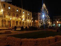 Luces de Navidad en Soria en 2020. SN