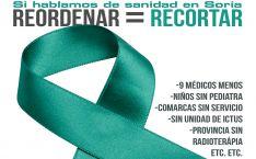 La plataforma propone lazos verdes por una sanidad digna en Soria