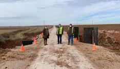 Una imagen de la visita a la carretera que lleva a Radona. /Dip.