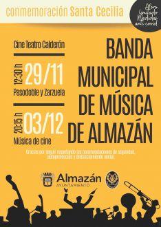 Foto 2 - Almazán honrará a Santa Cecilia con dos sesiones de su Banda municipal de música