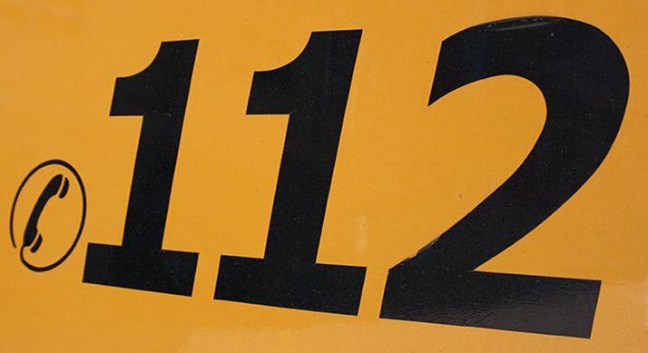 Foto 1 - Dos heridos por accidente en la CL-101 a la altura Almenar