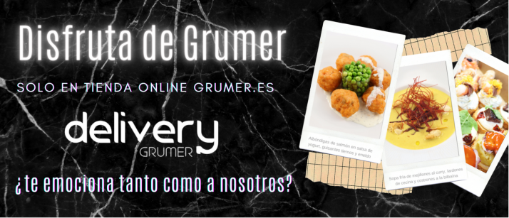 Grumer promueve su servicio de Delivery