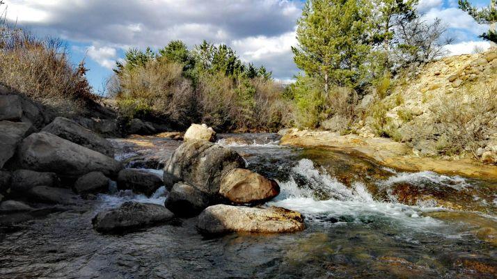Río Duero a su paso por Duruelo de la Sierra.
