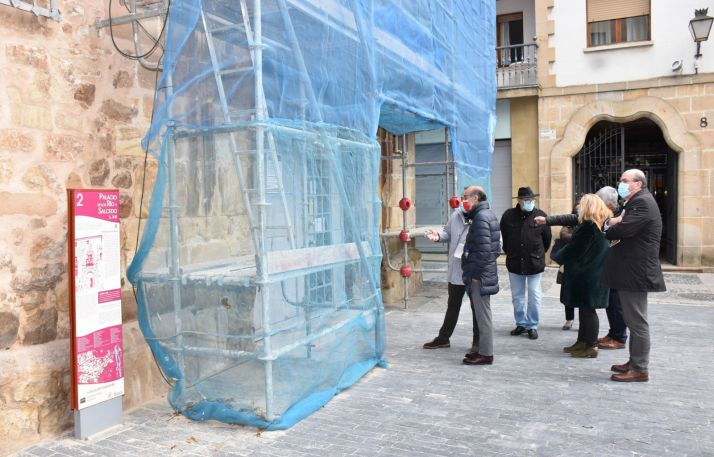 Foto 1 - La Junta restaura la portada del Palacio de los Ríos y Salcedos