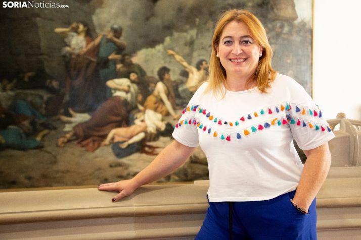 María José Jiménez, alcaldesa de Garray. /María Ferrer