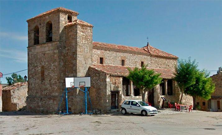 Una imagen de la iglesia de Beltejar. /GM