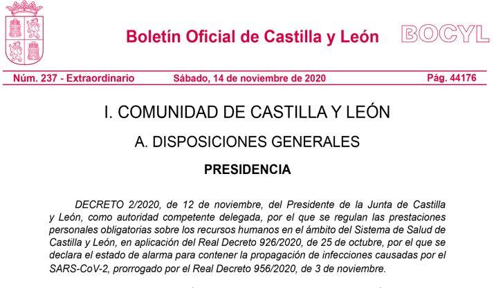 """Foto 1 - El Decreto publicado """"no adopta ninguna medida ni coarta la negociación con los sindicatos"""""""