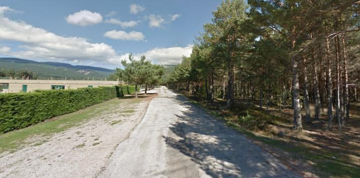 Ubicación del futuro camping de Duruelo de la Sierra.