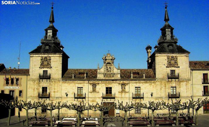 El edificio del Centro Cultural de San Agustín, en la Villa Episcopal. /SN