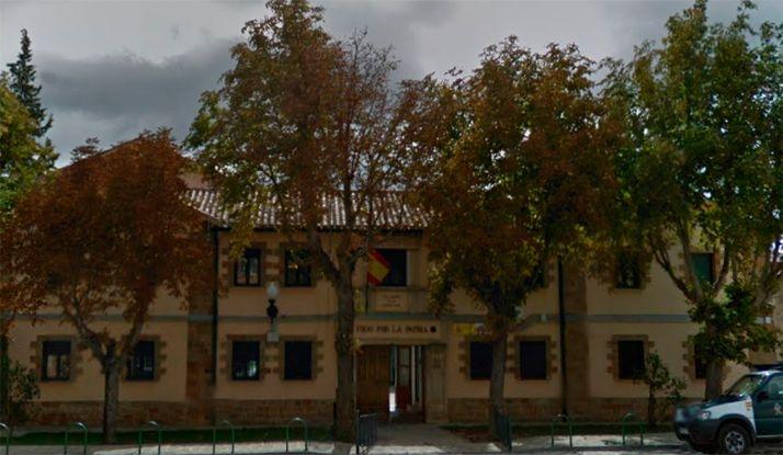 Una imagen del cuartel de la Guardia Civil en Ágreda. /GM