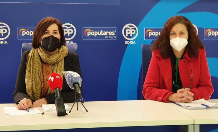 Cristina Rubio y Charo Martín.