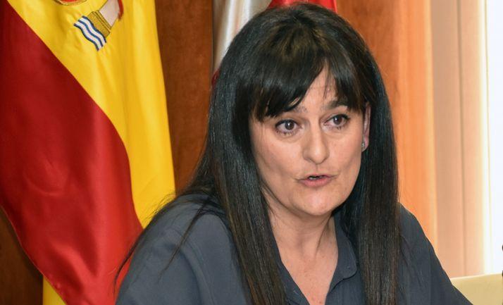 La jefa del Servicio Territorial de Sanidad, Elena del Vado.