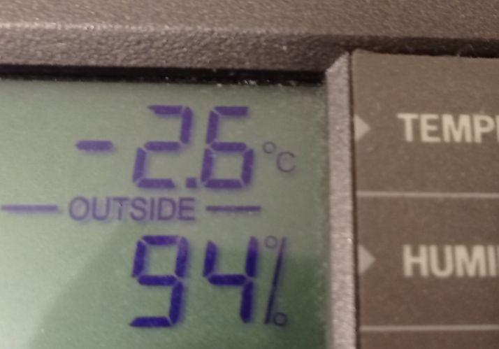 Duruelo de la Sierra ha registrado una mínima de -2,6 grados. /Agustín Sandoval