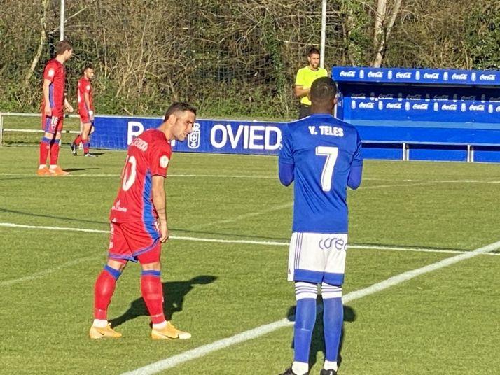 Foto 1 - Directo: el Oviedo B-Numancia acaba sin goles