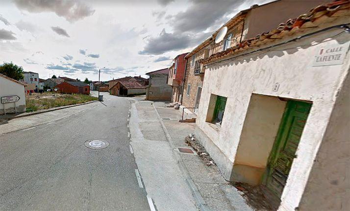Imagen de la calle La Fuente, en Fuentearmegil. /GM
