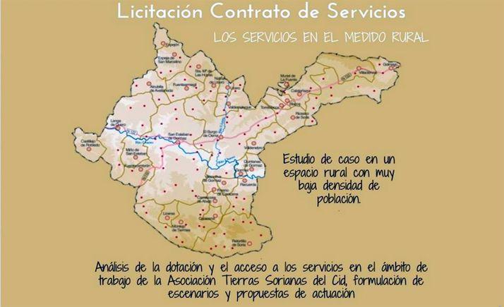 Foto 1 - Tierras Sorianas del Cid licita la redacción de un informe sobre los servicios en su ámbito de actuación