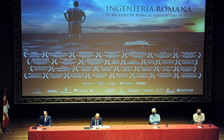 Una imagen de la presentación de la serie documental. /Jta.